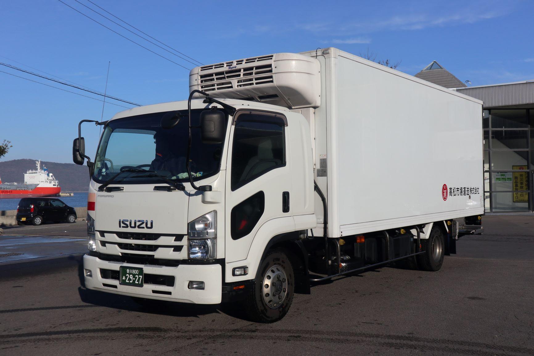 高松市場運送 4tトラック